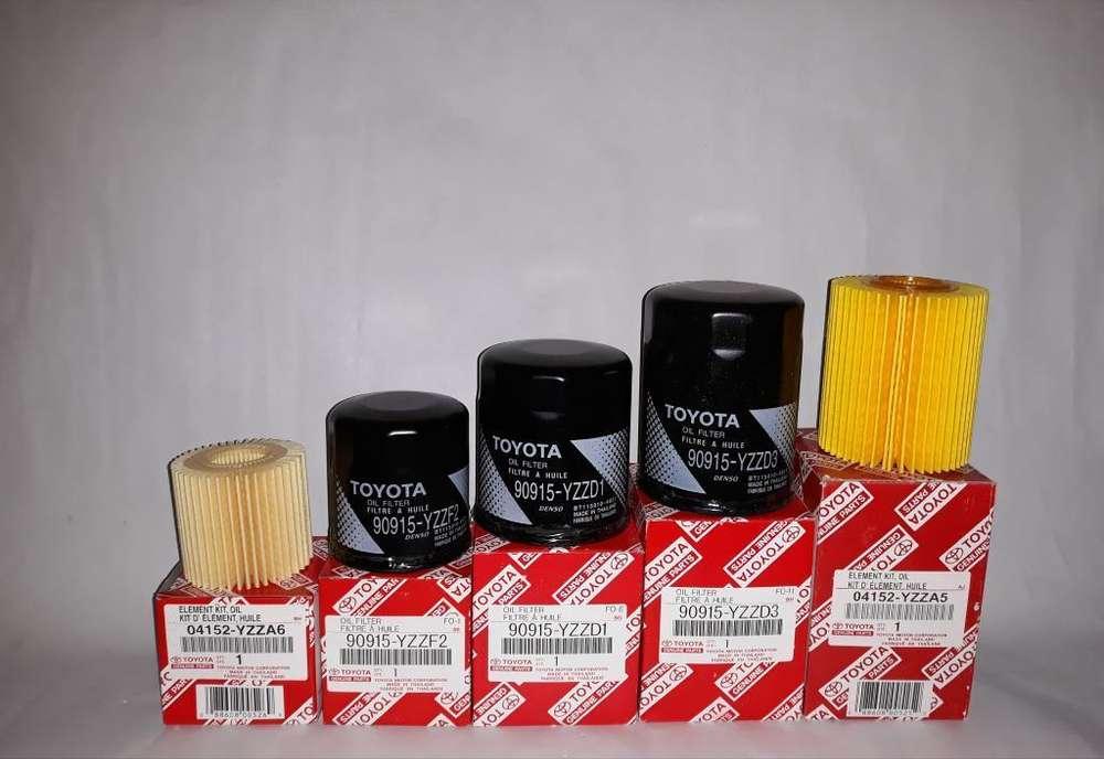<strong>filtros</strong> Gasolina <strong>filtros</strong> Aceite Toyota