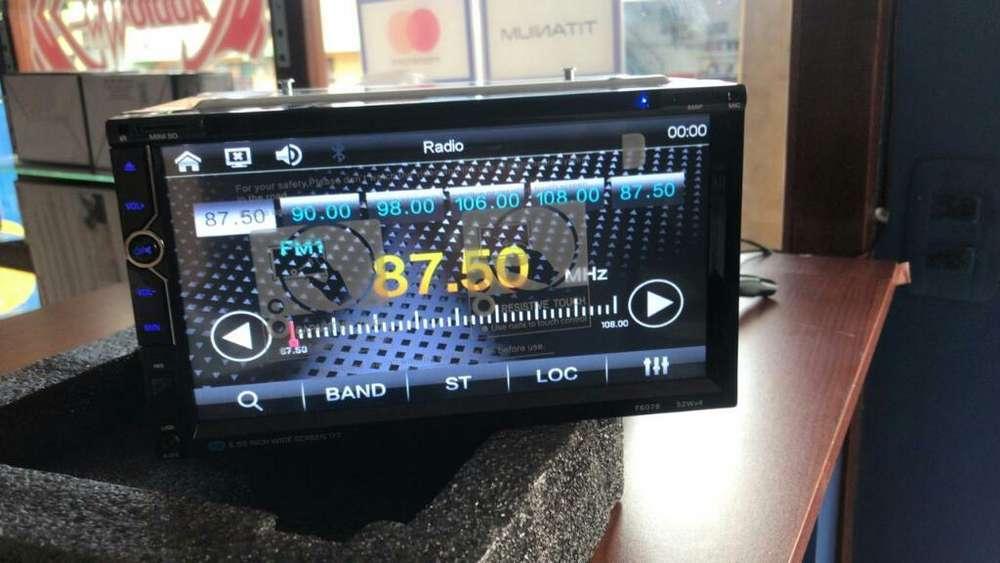 Radios Doble Din Dvd Tactil Bluwtooh Y M