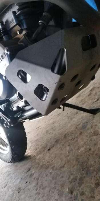 Pechera Dr 650 Aluminio