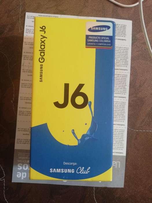 Vendo Samsung J6 Nuevo