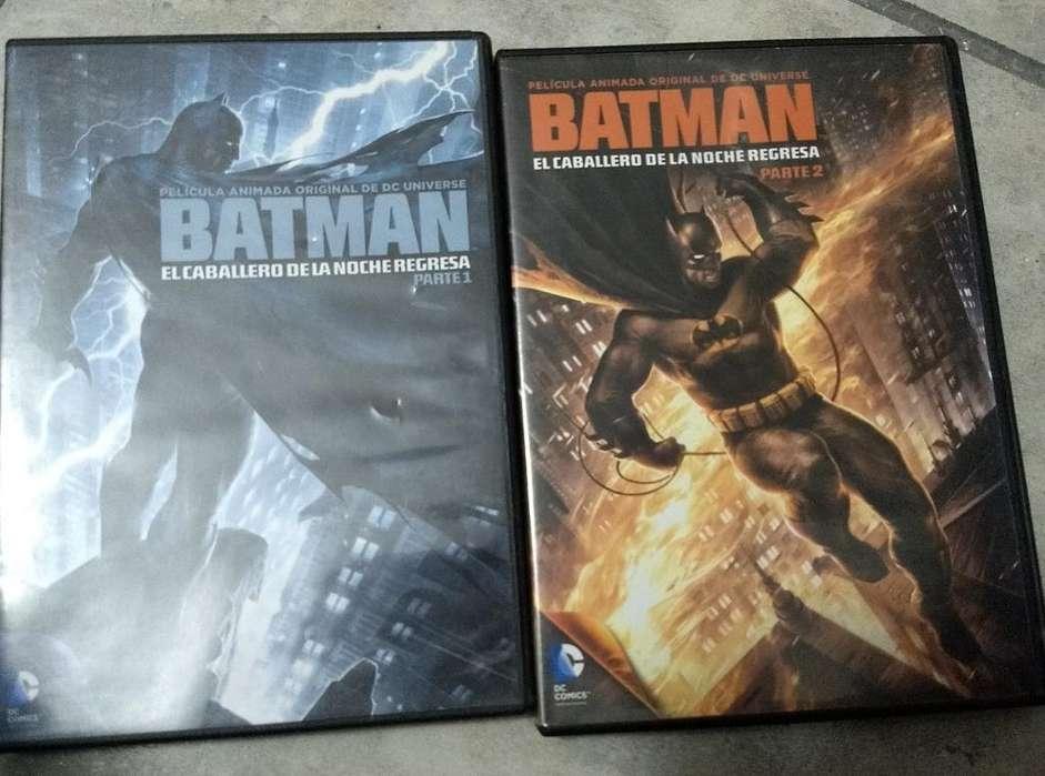 Dvds Batman Animados 1 Y 2