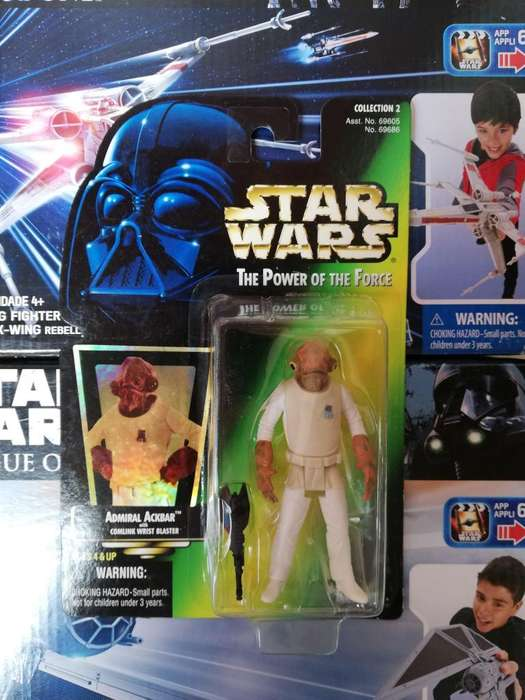 Star Wars The Power Of The Force - ADMIRAL ACKBAR - Figura Kenner