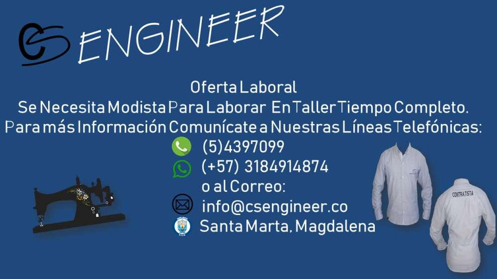 CS ENGINEER Busca Modista
