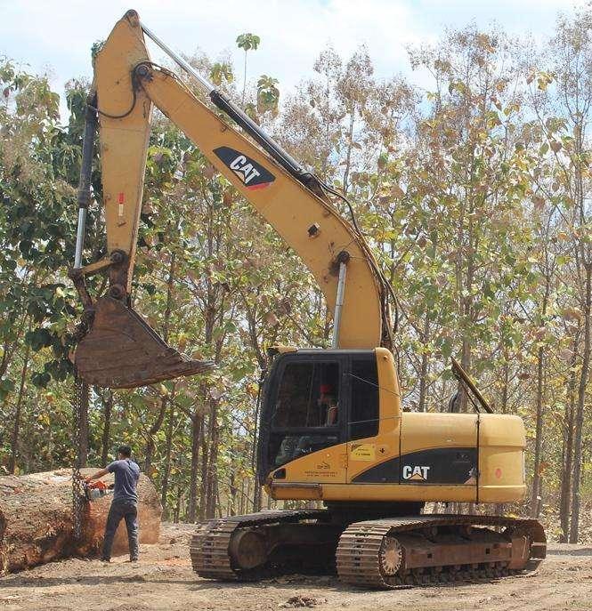 Excavadora Caterpilar 320C Japonesa