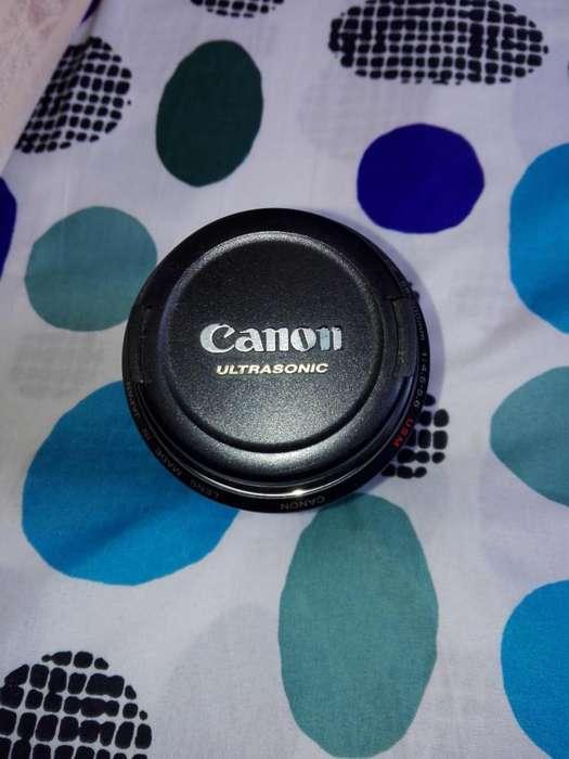 vendo objetivo o lente canon ultrasonic 55-200