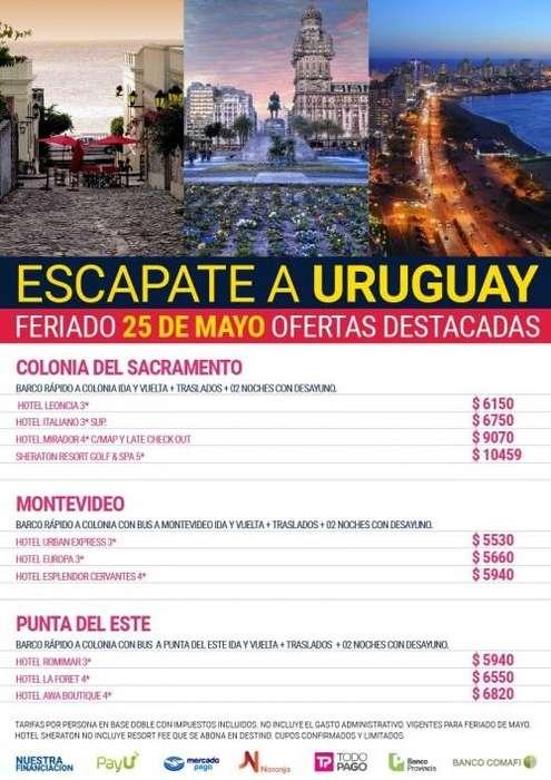 ESCAPADAS AL URUGUAY