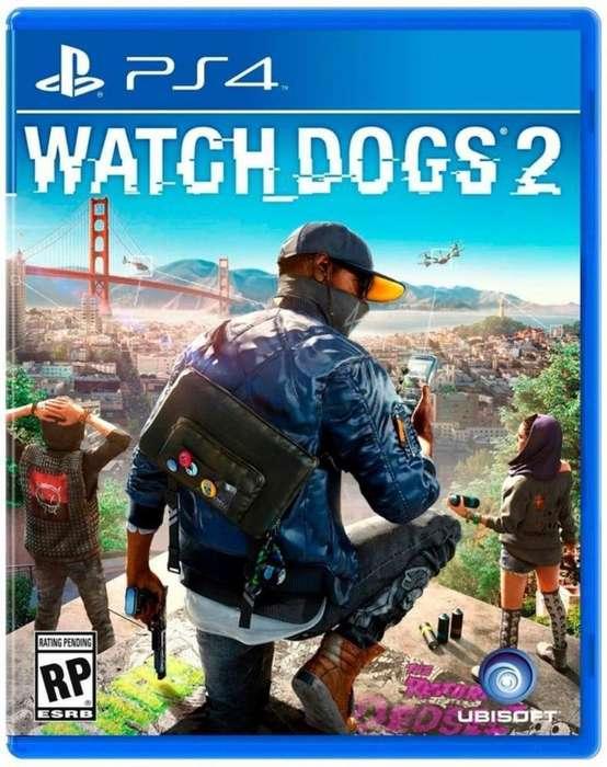 Watch Dogs 2 Juego de Ps4 Fisico