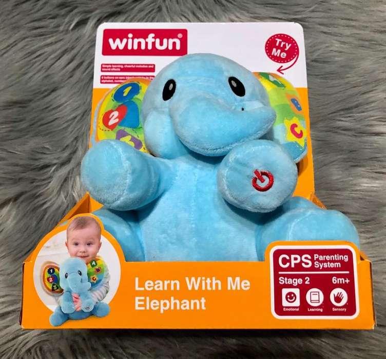 Winfun Elefante Musical Nuevo