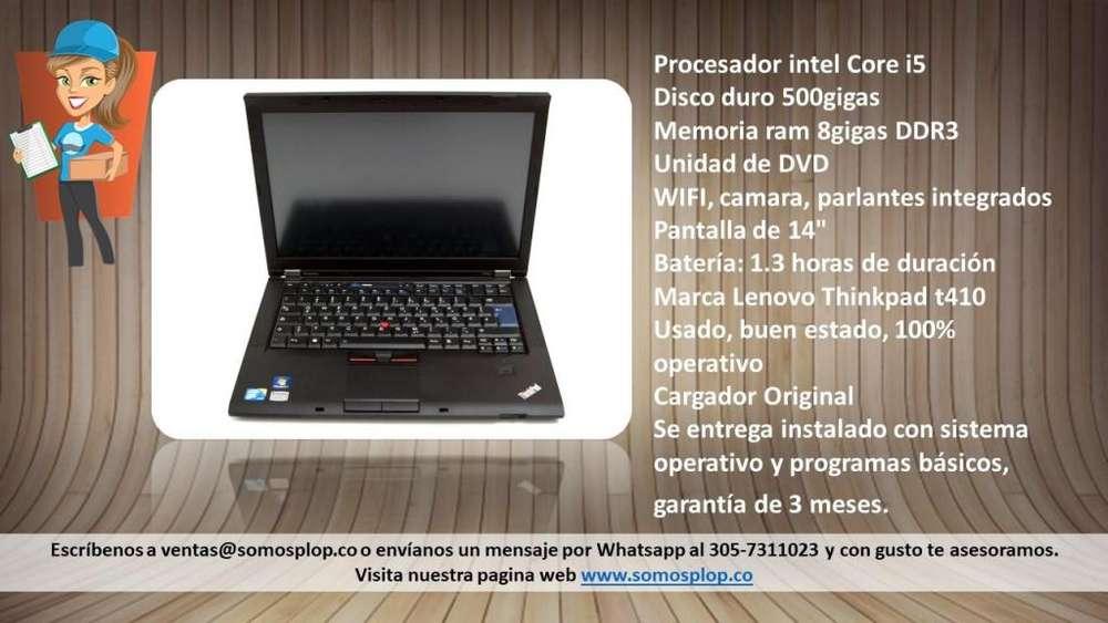 Venta Pc Portatil Lenovo