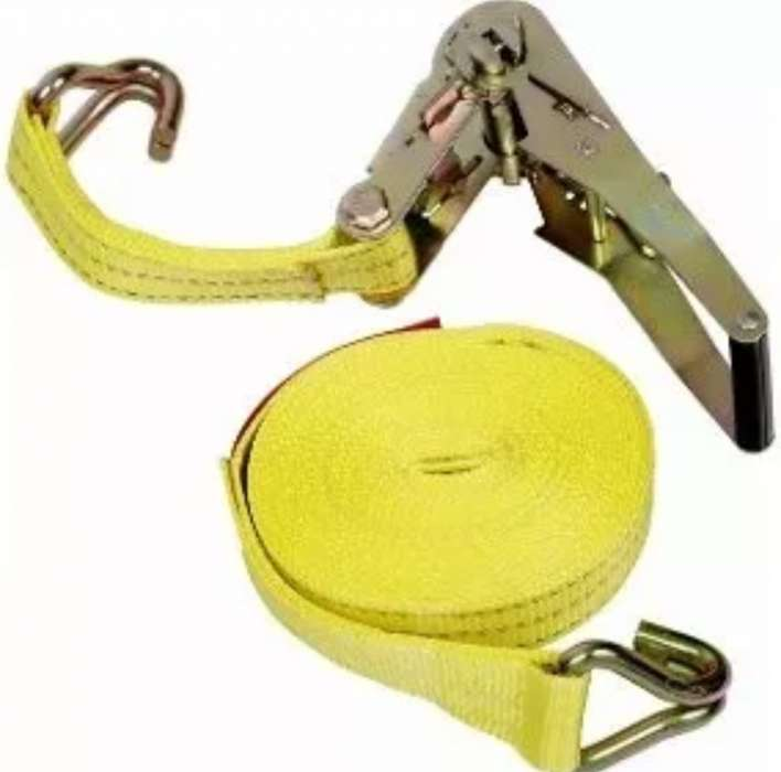 Eslinga Sujetador Reata Carga 1 Pg X 4.60 Mt 750 Kg Amarillo