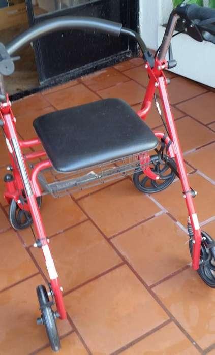 Andador Ortopédico Drive 10257RD1 Con 4 Ruedas
