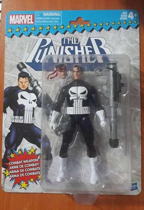 Marvel legends Punisher Gi joe motu heman dc universe star wars