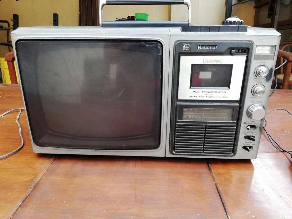 Vendo O Cambio Televisor B Y N Antiguo