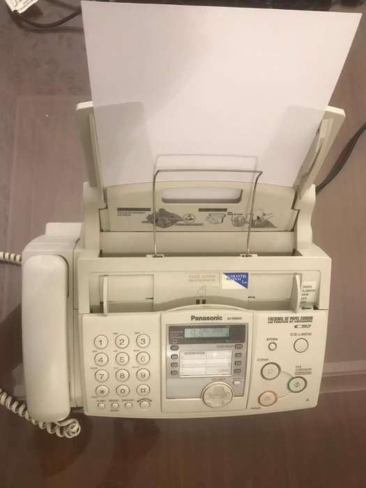 <strong>fax</strong> Panasonic KxFhd333Ag Impecable!