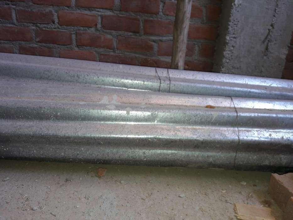 Calaminas de Metal 0. 80 Mts X 3. 60 Mts