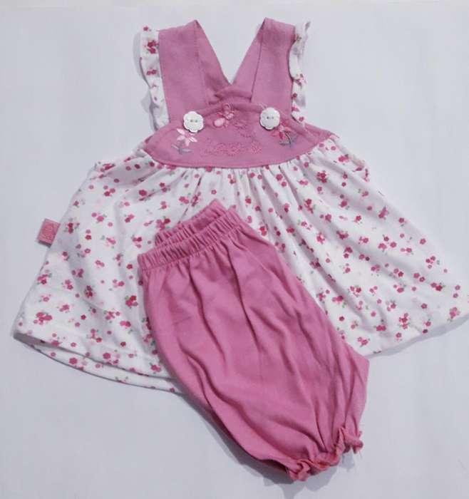 Vestido Y Bombachudo Talle 1 Al 3