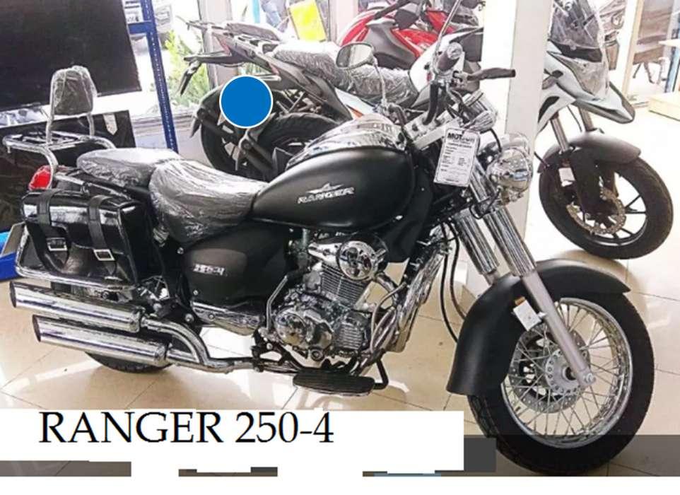 MOTO TIPO HARLEY RANGER/250-4/OFERTA LIMITADA//IMP. CHIMASA