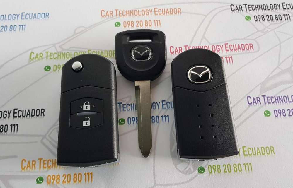 Carcasa Llave Mazda 2 3 5 6 BT50 CX7 tipo Navaja Nuevas Importadas Flip Key