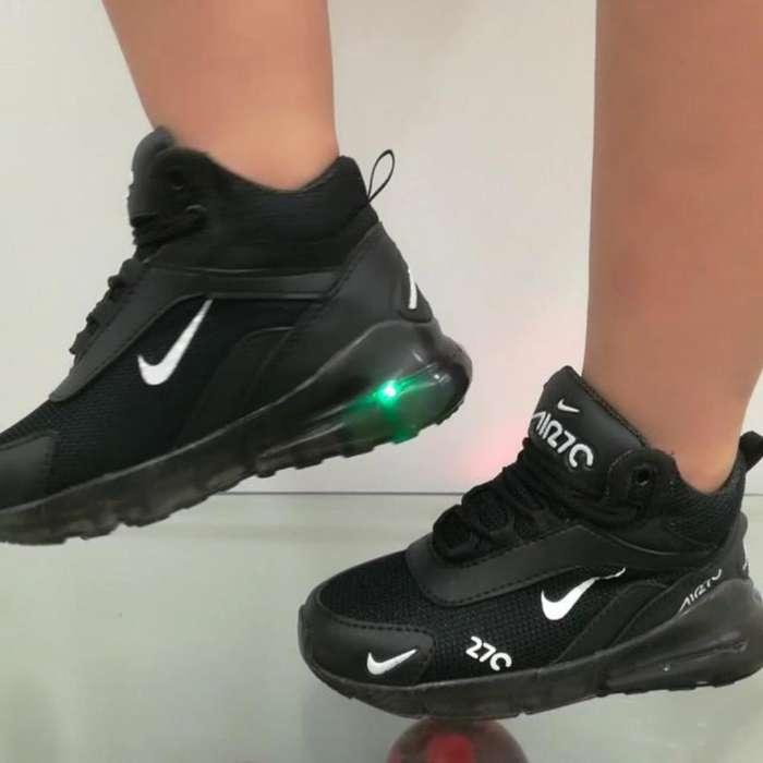 Zapato Botin Bota Nike 270 Niños