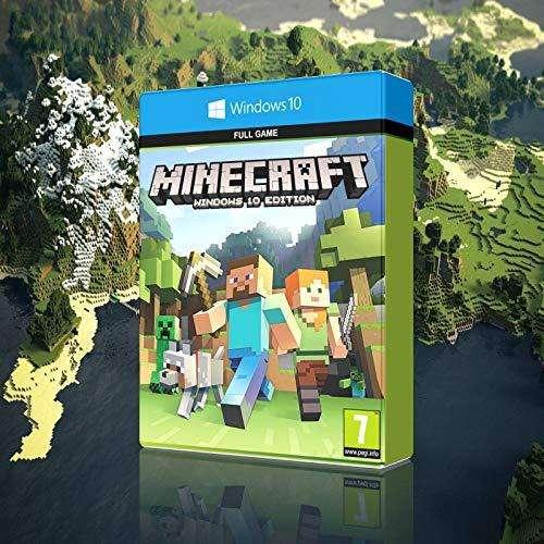 Vendo Minecraft Windows 10 y Java
