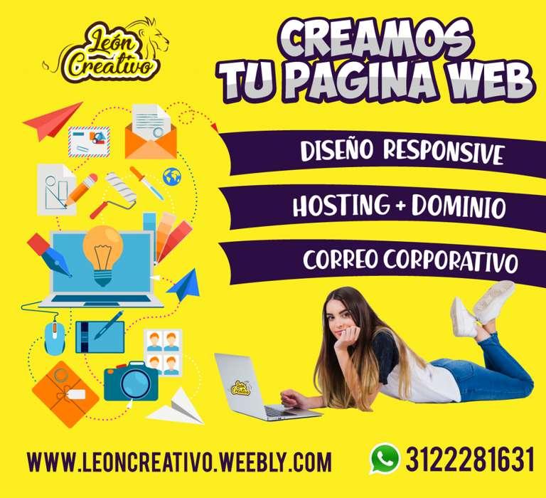 DISEÑAMOS TU PAGINA WEB A LA MEDIDA