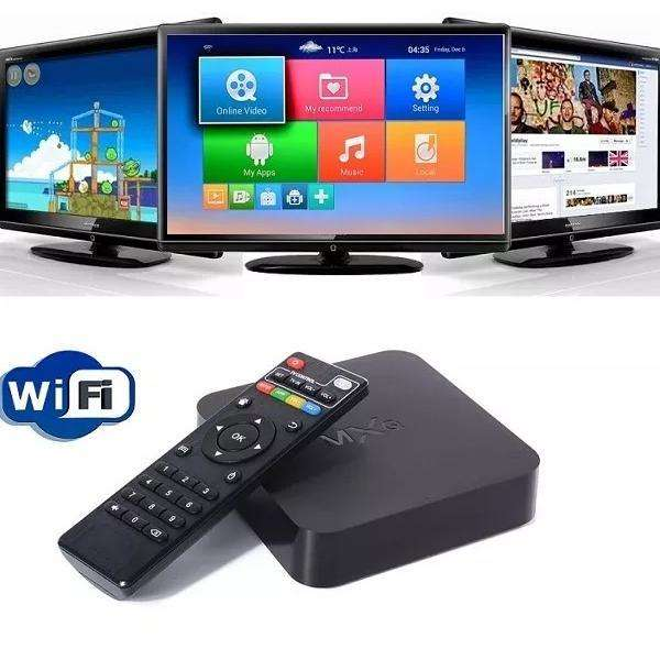Tv Box Mxq Pro 4k Android Convierte Tele A Smart Tv Internet