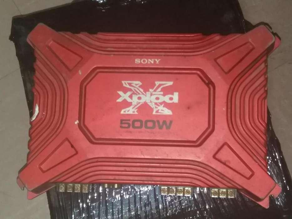Amplificador Xplod Sony 500W