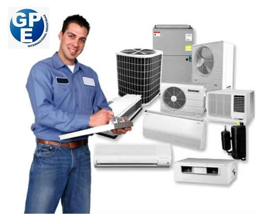 Servicio de instalación y mantenimiento de aire acondicionado a domicilio