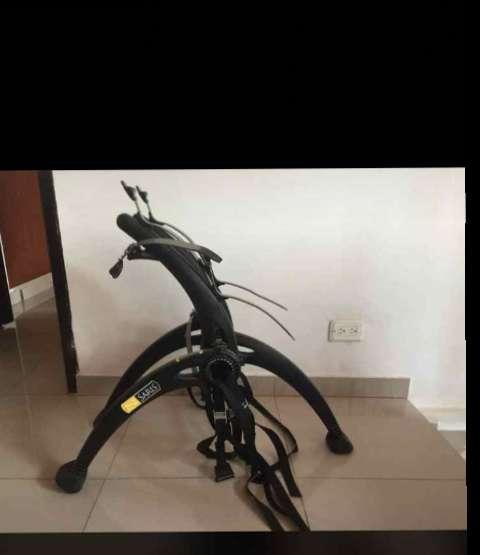 Soporte Colocar Bicicleta de Dos Puesto