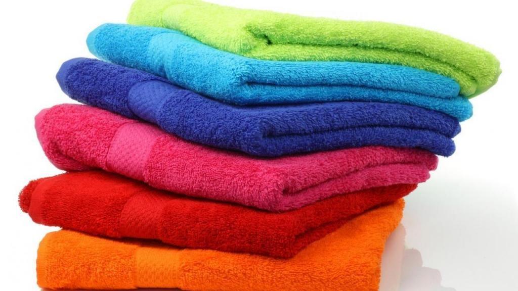 Toallas 100% algodón y rápido secado