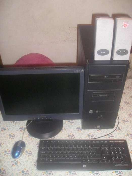 Computadora Athlon 64x2 COMPLETA C/monitor Lcd 17 Viewsonic Funcionando !!