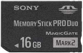 Memory Stick de 8 Gb