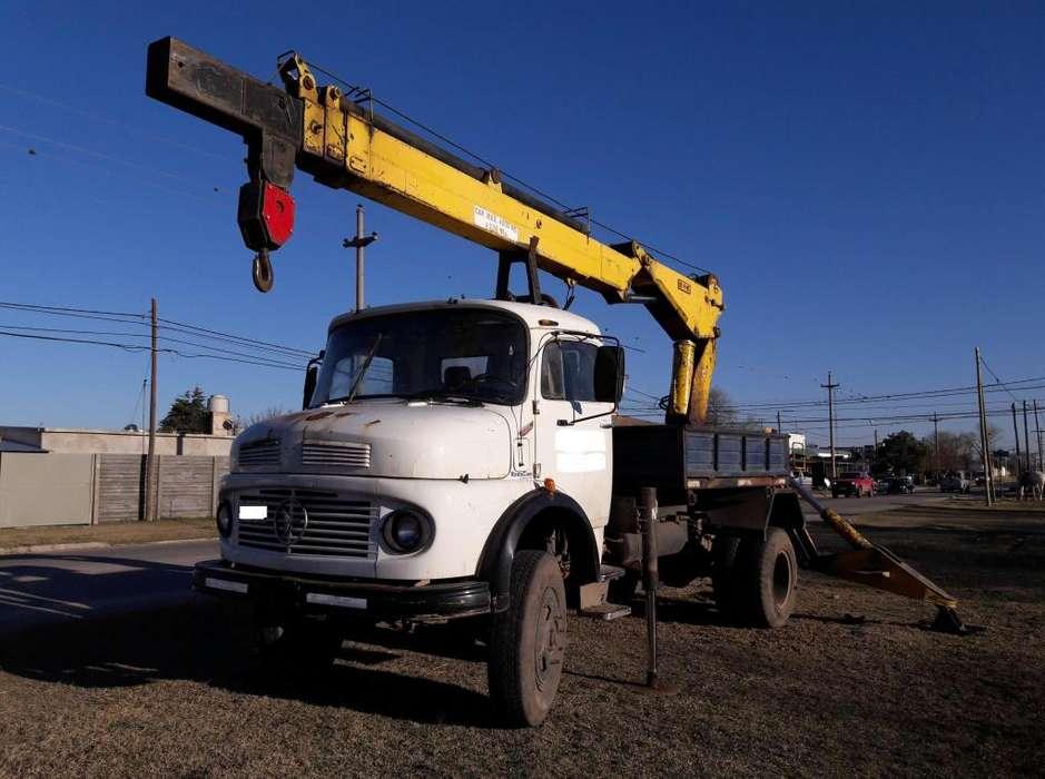 Vendo camión con grua Refire 10 TNm Mercedes Benz 1114
