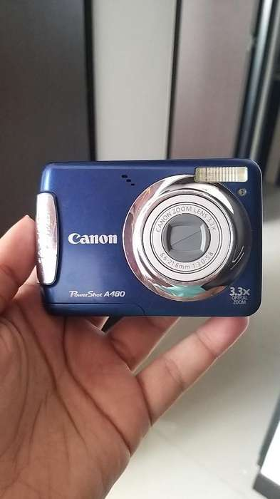 Cámara Digital Canon Power Shot A480