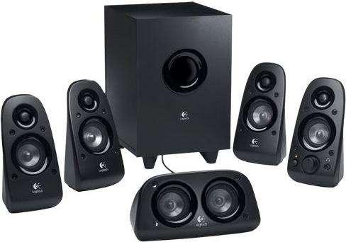 Sistema De Sonido 5.1 Logitech Z506 Pc Tv 75 Watts Rms