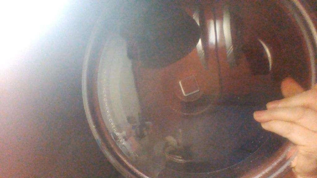 Plato vidrio repuesto microondas diametro 32 cm, centro cuadrado 2,5 cm