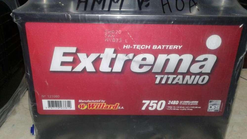 Baterias para Logan,simbol,mazda,etc