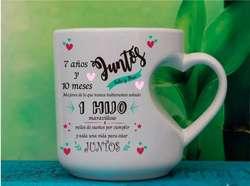 Mugs, pocillos,gorras,cojines,llaveros, personalizados