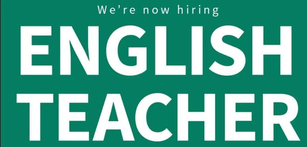 English Teacher Vacancy