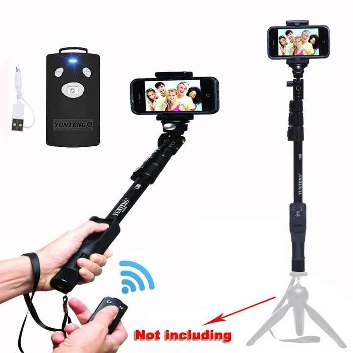 Yt1288 Selfie Stick Yunteng 1288 Trípode Monopod BT Extensible de Mano CÓDIGO 21317