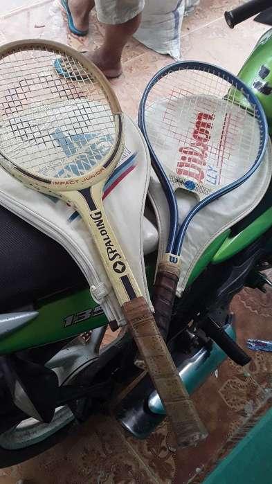 Vendo Raquetas Wilson Y Spalding