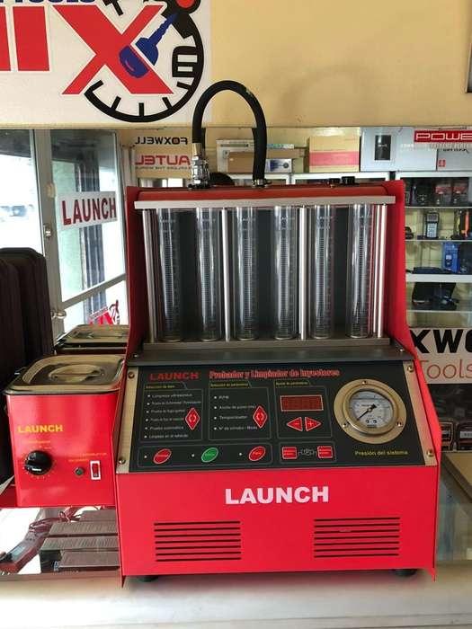 Lavador de Inyectores Launch 6 Iny