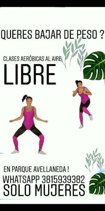 Prof Al Aire Libre Parque Avellaneda Tuc