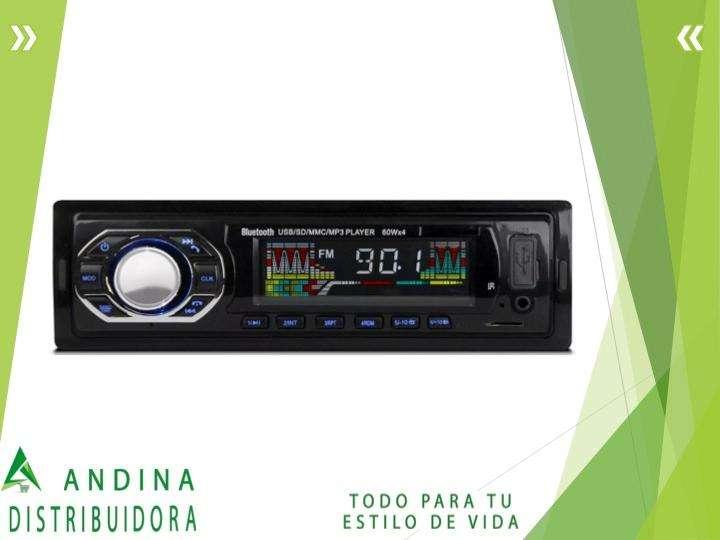 Radio Para Carro Bluetooth Usb Sd Mp3 Aux