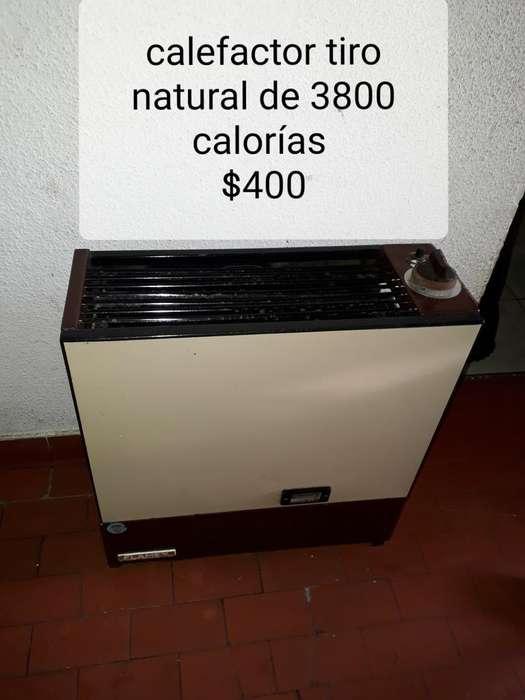 Calefactor Tiro Natural