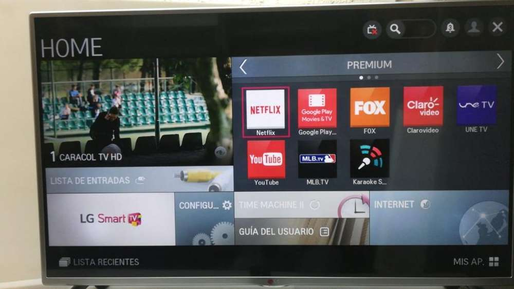 Televisor Lg 42 Smart Tv Wifi Y Tdt