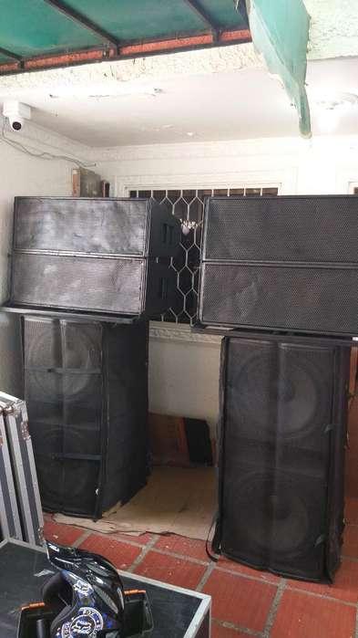 Sonido Line Array Profesional
