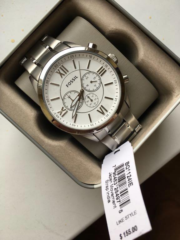 4cac2731826e Reloj Fossil Metálico Gris Nuevo Original Para Hombre - Santo Domingo