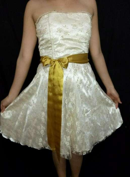 Vestido de Fiesta O Egresada