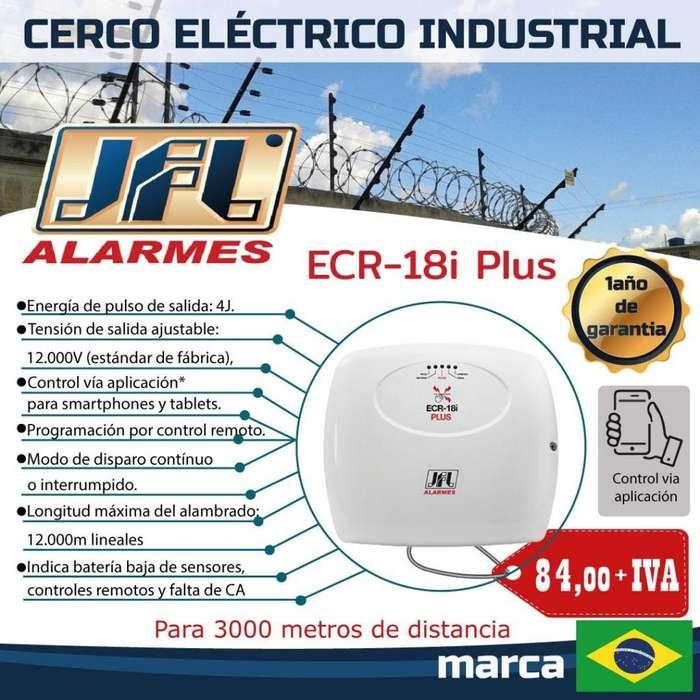 CERCO ELECTRICO INDUSTRIAL JFL ECR 18I PLUS /CERCO ELECTRICO / MODULO ETHERNET-QUITO-GUAYAQUIL